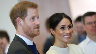 Preparation for the royal wedding of Harry and Meghan