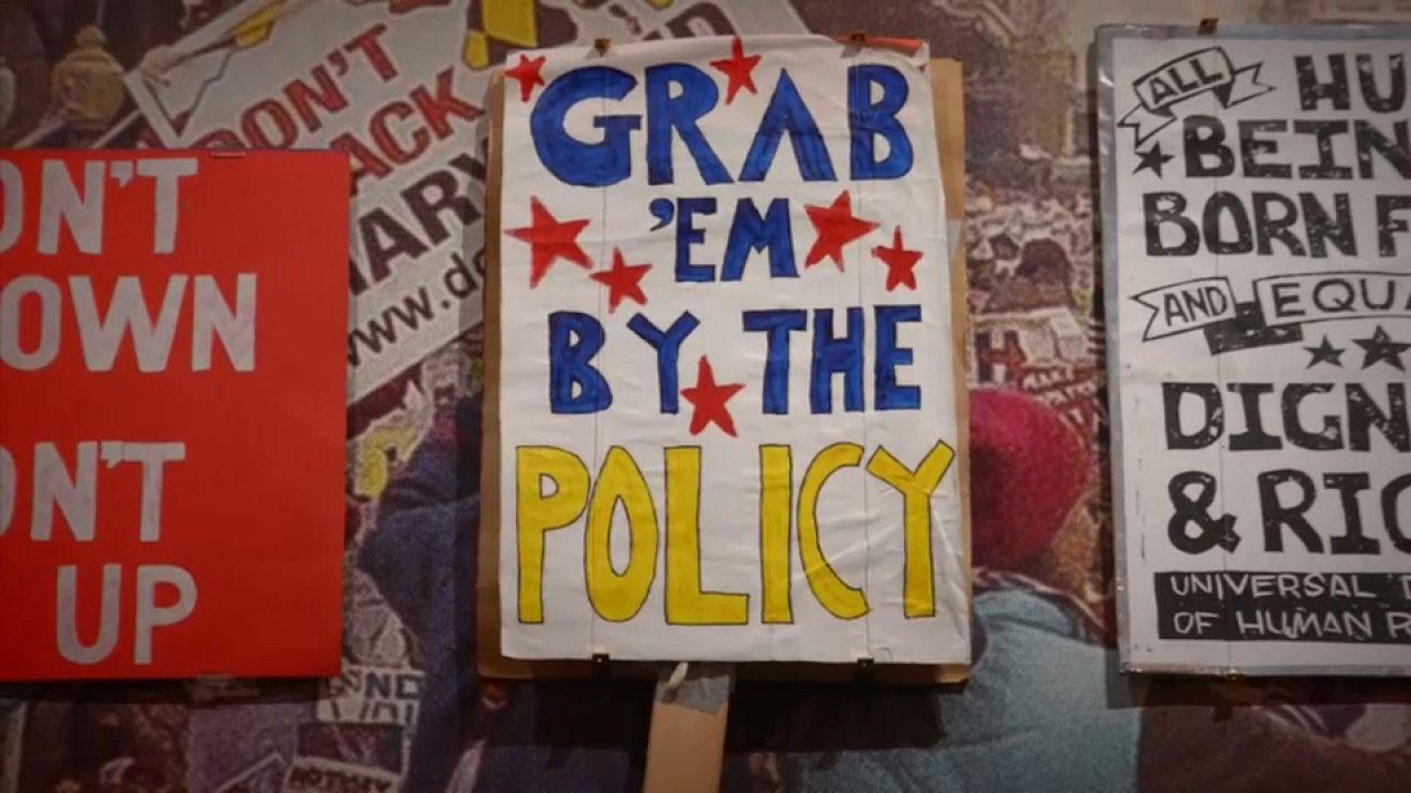Le graphisme politique s'accroche à Londres