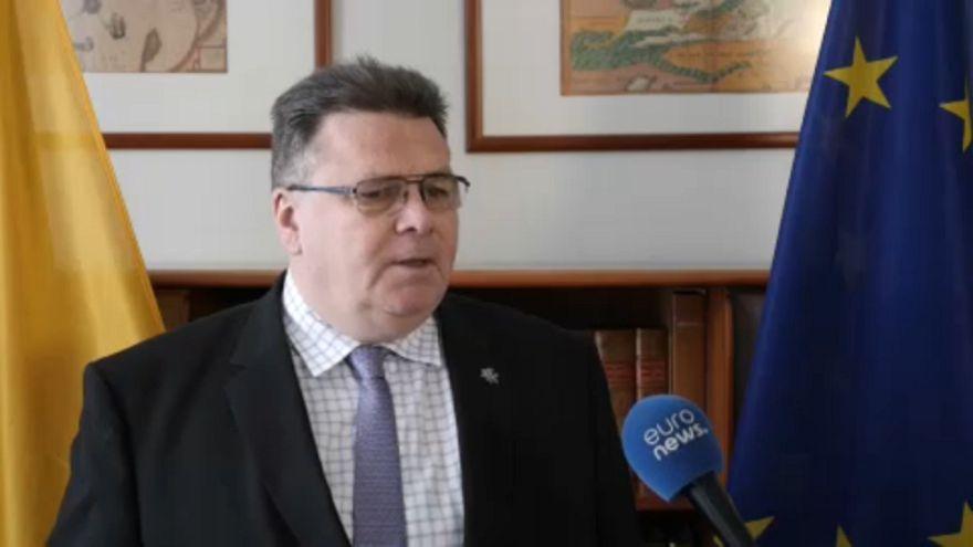 Linas Linkevicius, Ministro dos Negócios Estrangeiros da Lituânia