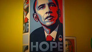 Trump és Obama a Design Museumban