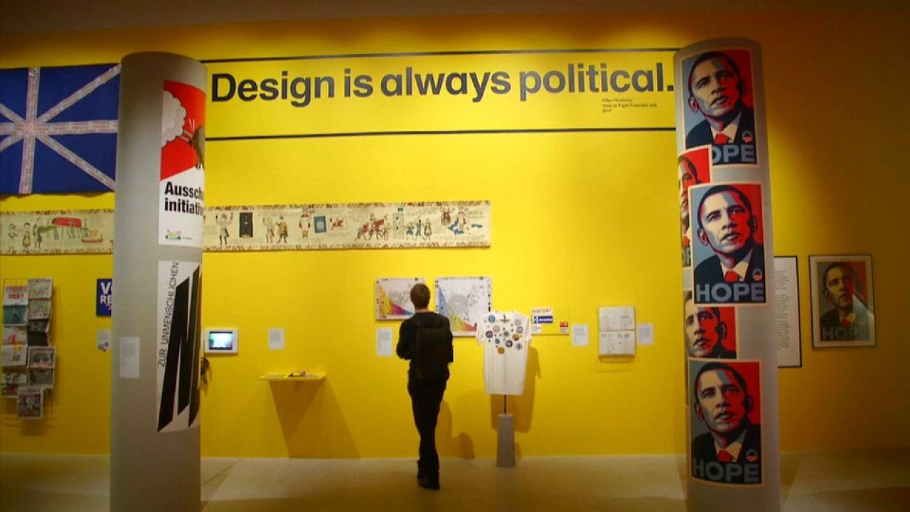 Siyasi içerikli tasarımlar Londra'da sergileniyor