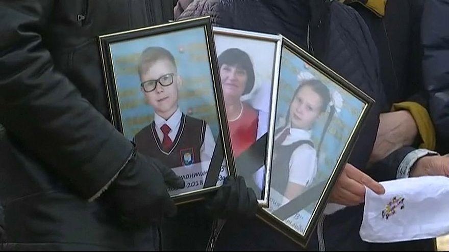 Russland trauert um die Opfer von Kemerowo