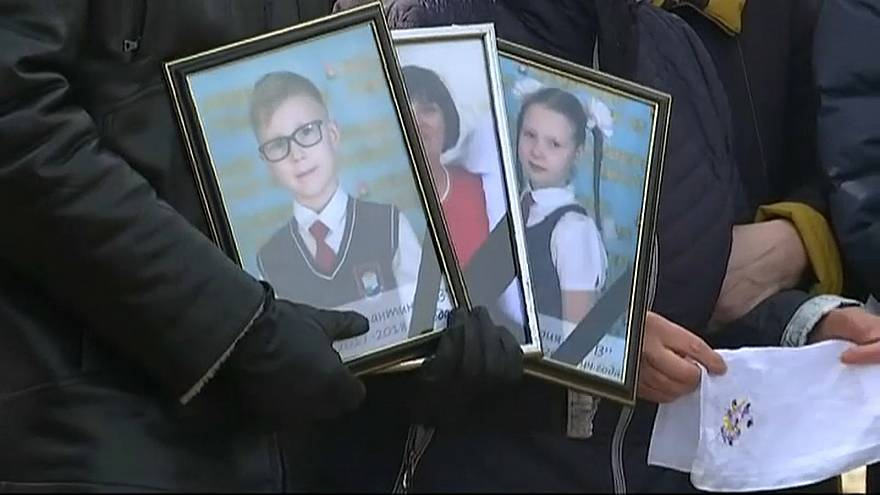 Funerals underway for victims of Siberian shopping mall fire
