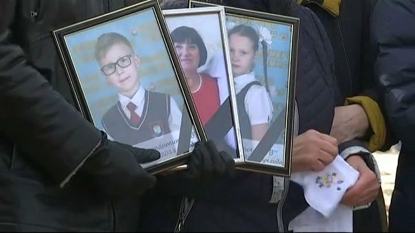 Трагедия в Кемерове: первые похороны