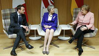 رهبران بریتانیا، آلمان و فرانسه