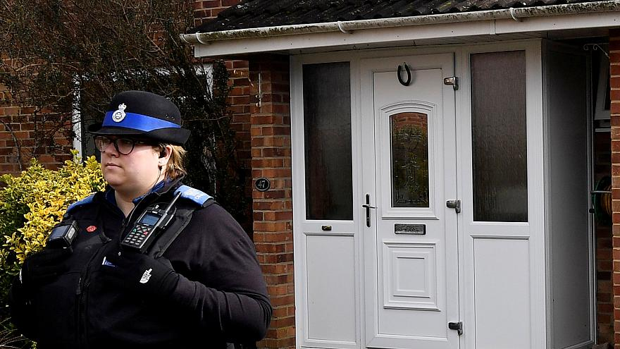 Police: Ex-Russian spy likely came in contact with nerve agent at front door