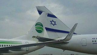 تصادف دو هواپیما در فرودگاه اسرائیل