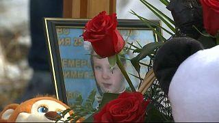 Похороны жертв кемеровской трагедии