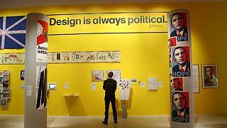 «امید به هیچ»؛ هنر و سیاست در موزه طراحی لندن