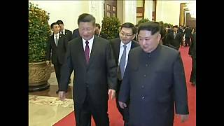 Trump upbeat about North Korean summit after Kim Jong-un met with China's president