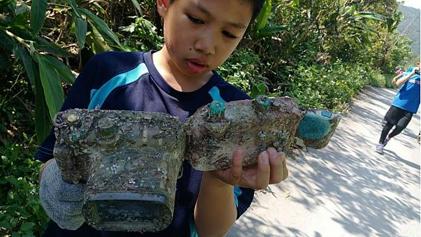 Camera found washed up on Taiwan beach returned to owner after three years
