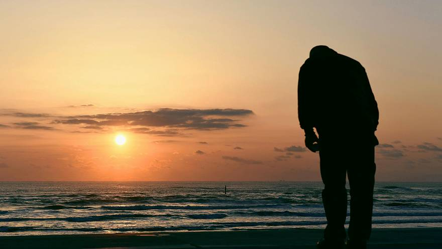 A tragédia évfordulóján sokan gyászolták szeretteiket, köztük ez a férfi is