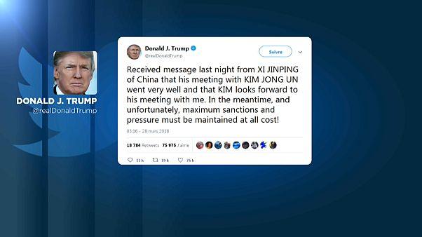 Donald Trump aguarda com expectativa encontro com Kim Jong-Un