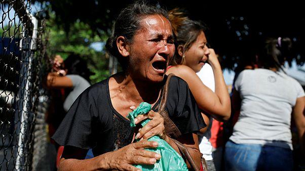 آتشسوزی در یک بازداشتگاه پلیس ونزوئلا ۶۸ کشته بر جا گذاشت