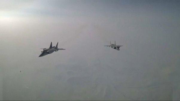 Primer vuelo ruso sobre el Polo Norte hasta Norteamérica