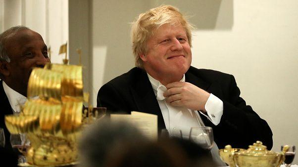Il ministro degli esteri britannico Boris Johnson.