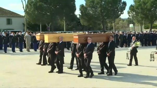 Attentats de l'Aude : l'hommage aux victimes de Trèbes et Carcassonne