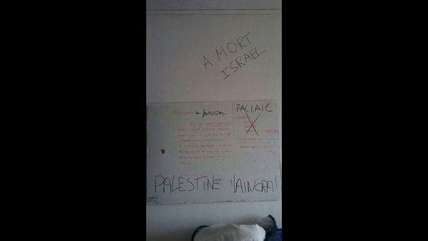 Acte antisémite dans une université parisienne