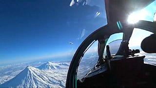 Esercitazione militare russa sui cieli di Polo Nord e Stati Uniti
