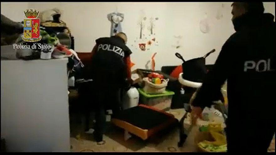 Átfogó terrorellenes akció Olaszországban