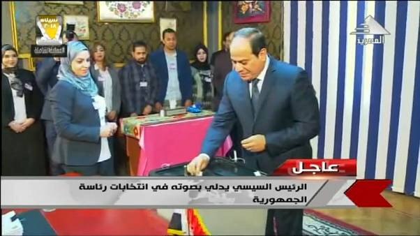 Ас-Сиси - вновь президент