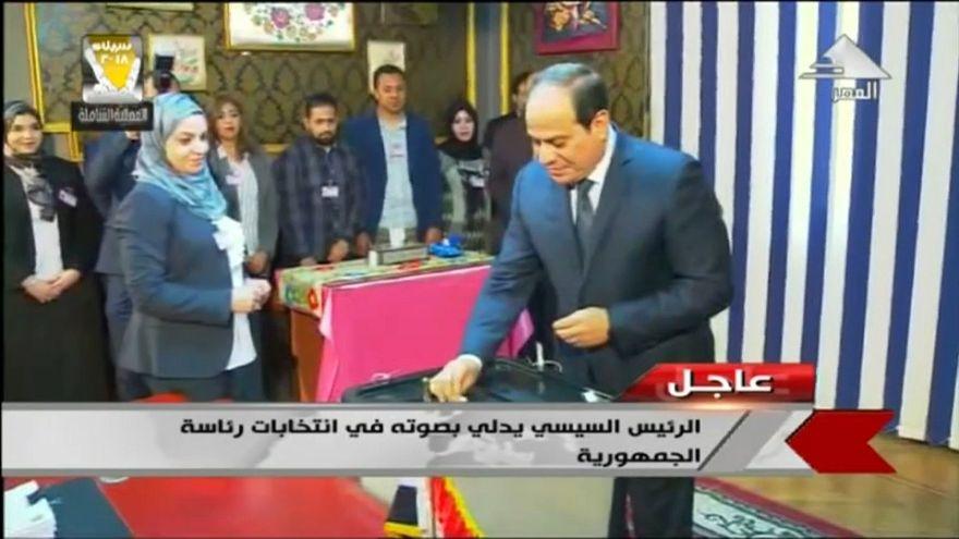 Abdelfatah al Sisi gana las elecciones en Egipto