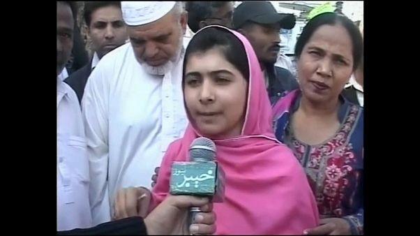 Malala, la blogger pakistana premio Nobel per la Pace, torna in visita in Pakistan
