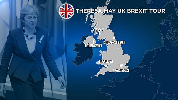 British prime minister on whistle-stop tour of UK