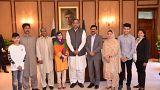Malala regressa ao Paquistão