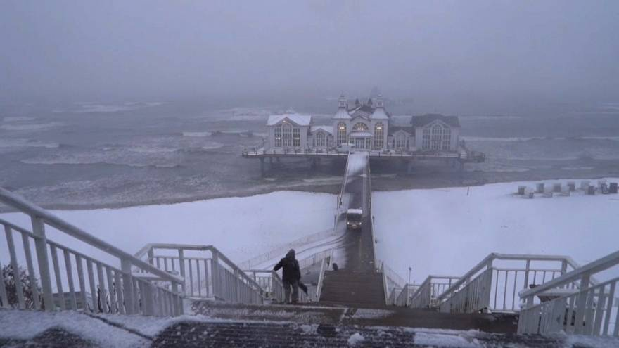 Weiße Ostern: Schnee und Glätte in Norddeutschland