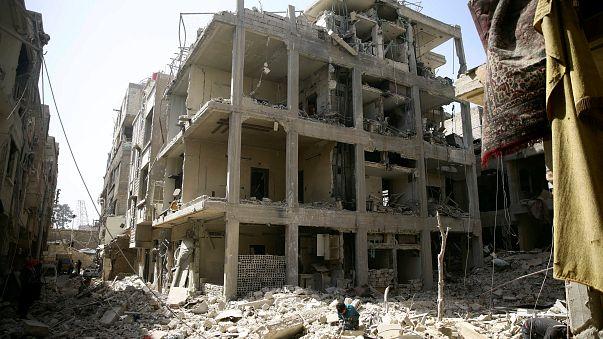 The town of Douma, Eastern Ghouta