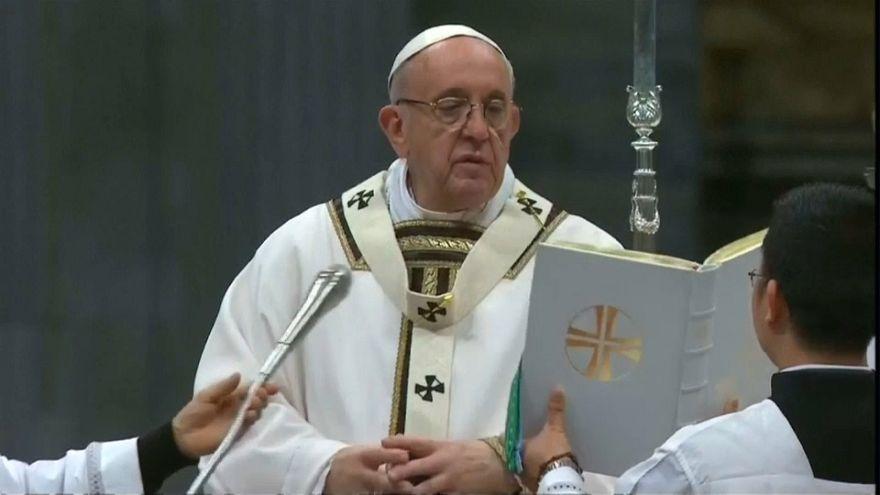 Vaticano: le cerimonie del giovedì santo