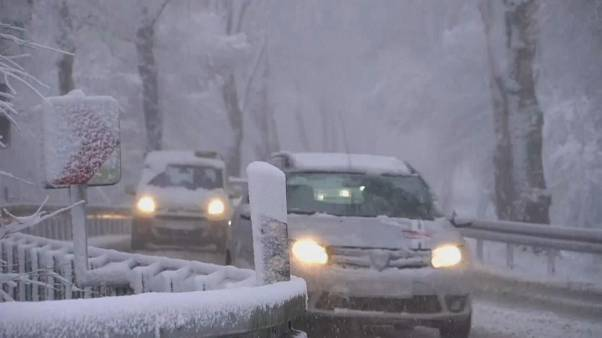Germany and Poland experience late cold snap