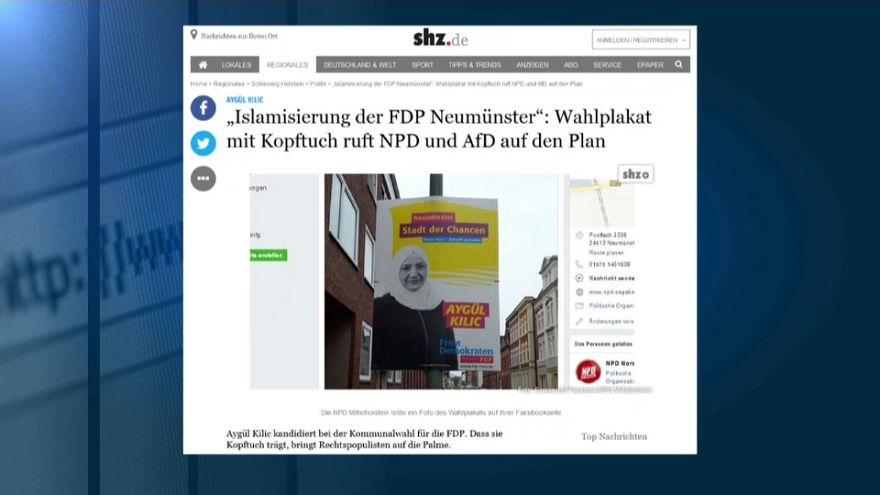 Twitter-Solidarität für FDP-Kandidatin Kilic - mit Kopftuch