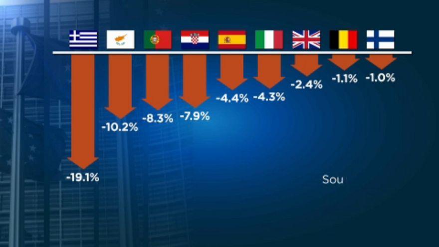 Kilenc országban alacsonyabbak a bérek, mint a válság előtt