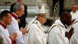 A papoknak üzent a pápa nagycsütörtökön