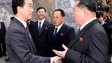 Líderes das duas Coreias encontram-se a 27 de abril