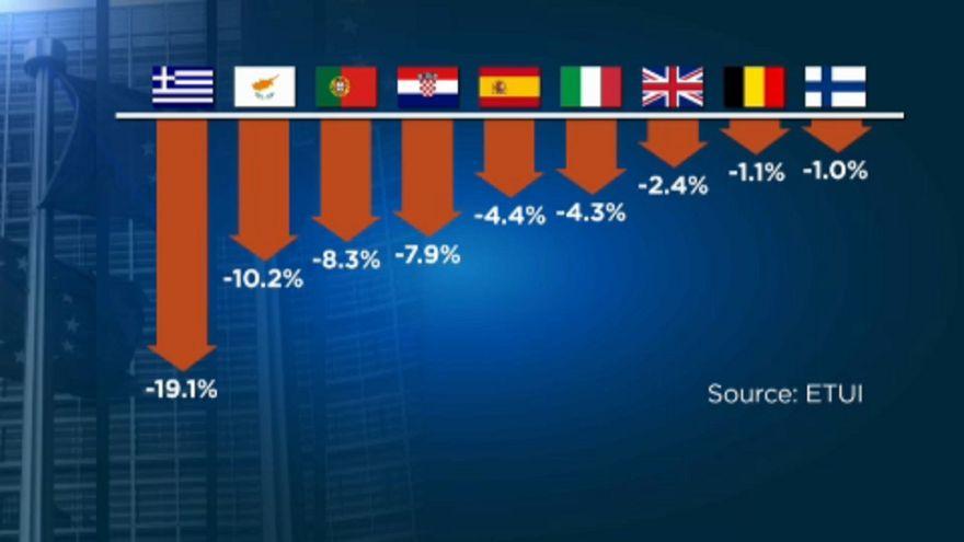 Где в ЕС упали зарплаты?