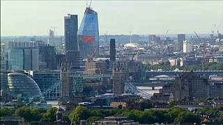 "A ""City of London"", centro financeiro de Londres"