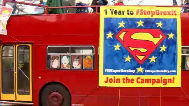 """От """"брексита"""" спасает Супермен"""