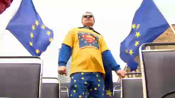Super-heróis contra o Brexit