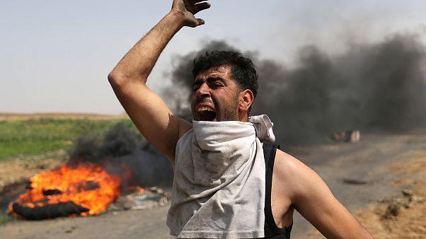 """Israël-Gaza : tensions à l'aube de """"la journée de la terre"""""""