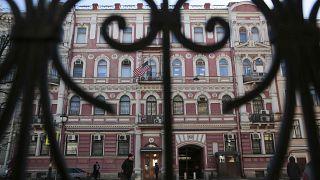 US consulate in St Petersburg