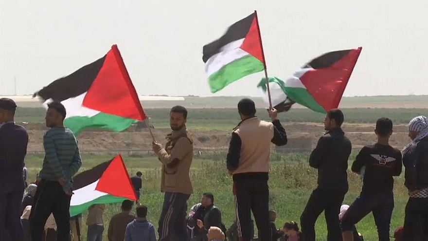 """Gaza: """"Marsch der Rückkehr"""" der Palästinenser"""