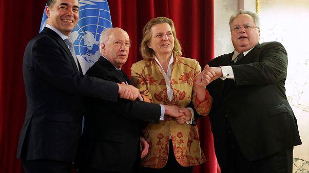 Τριμερής - Βιέννη: «Μεγάλη βελτίωση» στις συζητήσεις για το ονοματολογικό δηλώνει ο Νίμιτς