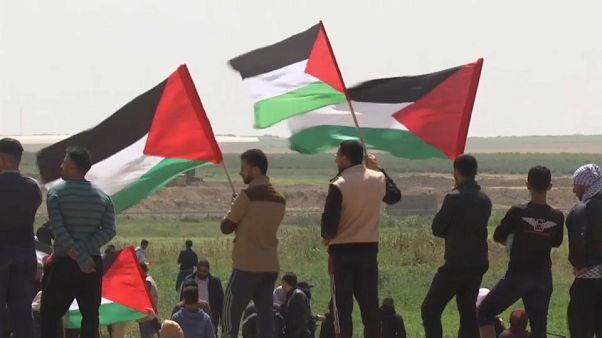 """Gaza protesta por el """"derecho de retorno"""""""