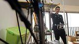 استفاده قاچاقچیان چینی از پهپاد برای انتقال گوشیهای هوشمند