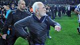 محرومیت سه ساله مدیر باشگاه فوتبال پائوک یونان از حضور در استادیوم فوتبال