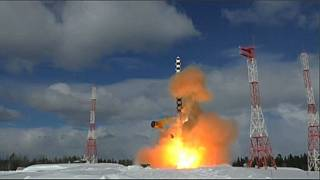Watch: Russia test launches new 'Satan' intercontinental ballistic missile