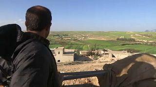 Kurd látogatók a francia elnöknél